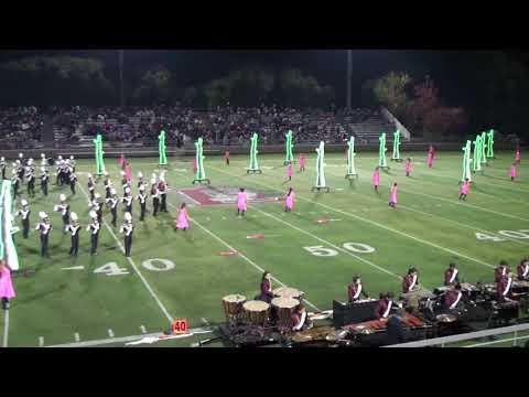 Cupertino High School Marching Band and Color Guard (Stockton, 18 November 2017)
