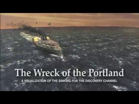 Wreck of the Portland - Discovery