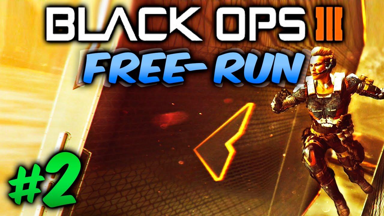 free run black ops 3 record