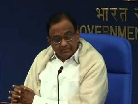 Finance Minister P Chidambaram on banks