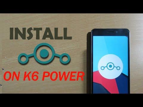 Install LineageOS 14 1 on Lenovo K6 Power {Walkthrough
