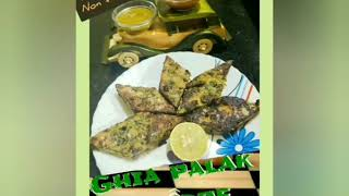 Ghia Palak Patode starter recipe steamed green veg snack easy to make harmony by anamica