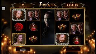 Игровой автомат The Phantom of the Opera (Microgaming)