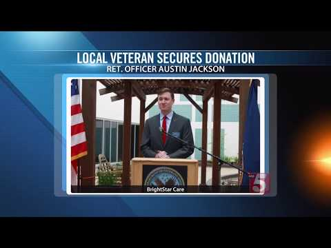 Nashville TV Coverage of BrightStar Care donation to Tennessee Valley Health Center