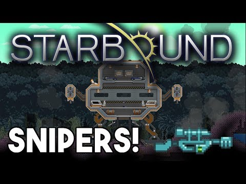 Starbound Custom Creations: Custom Sniper Rifles