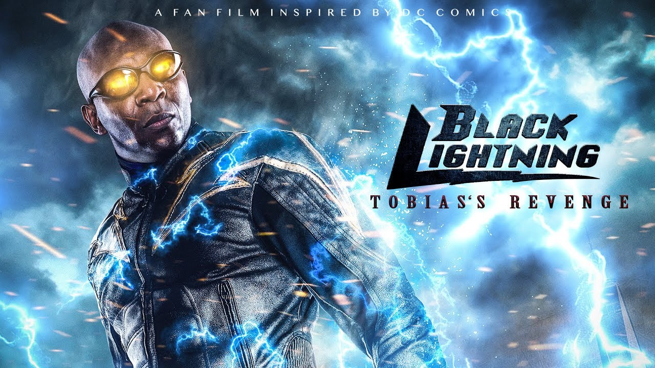 Image result for black lightning fan film