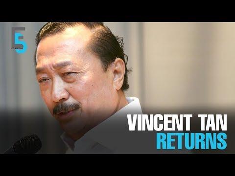 EVENING 5: Vincent Tan returns as BCorp Exec Chairman