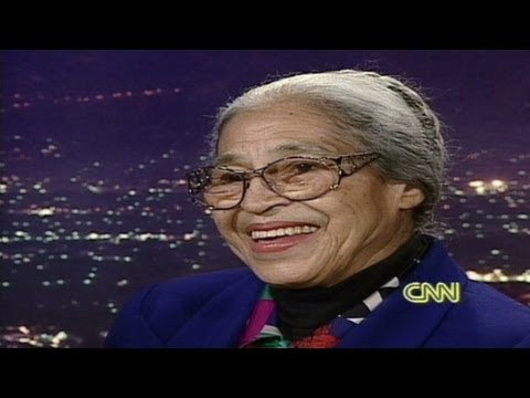 Larry King Live - 1995: Rosa Parks says she isn