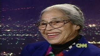 Larry King Live - 1995: Rosa Parks says she isn't bitter
