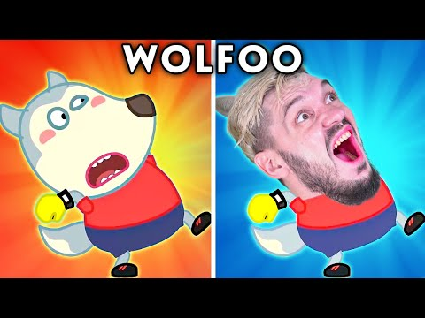 Download WOLFOO WORKOUT - WOLFOO WITH ZERO BUDGET   WOLFOO FUNNY ANIMATED PARODY