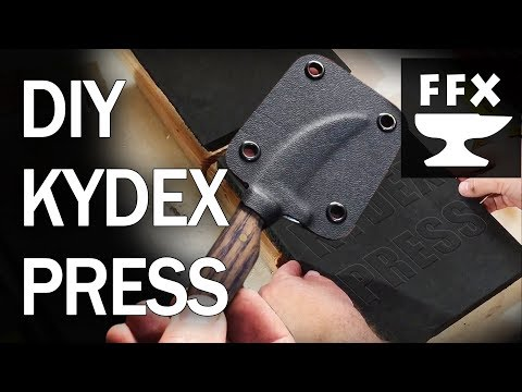 How to make a kydex press and a knife sheath (for about $20)
