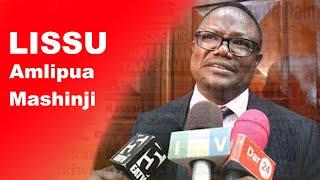Lissu amlipua Mashinji, CCM yajibu mapigo kwa Chadema  | Dar24 Media