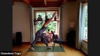 Chair Yoga, June 7th 2021
