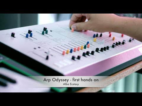 Arp Odyssey Korg - first hands on