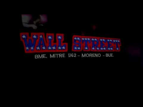Tributo A Wall Street de Moreno