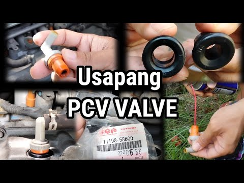 TUTORIAL PCV VALVE CLEANING USING WD40 AND GROMMET REMOVAL AND REPLACEMENT OF SUZUKI APV | D.I.Y.