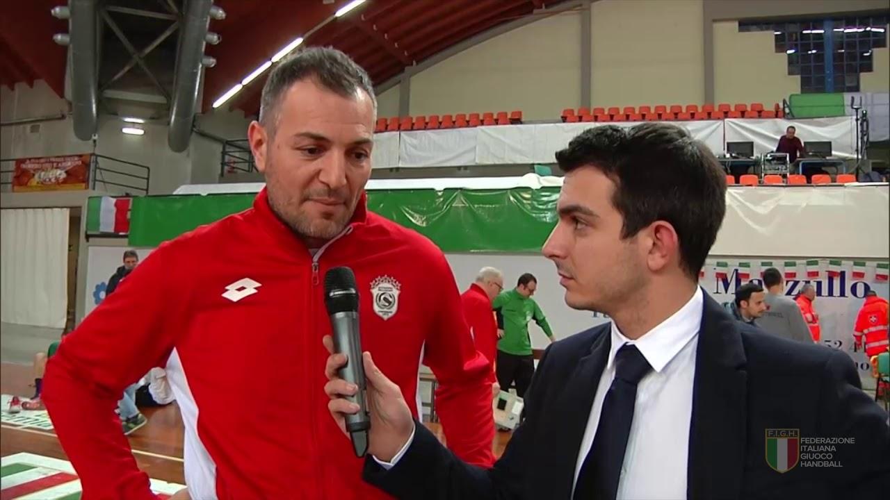 Il post-partita di Conversano-Bolzano (30-26)