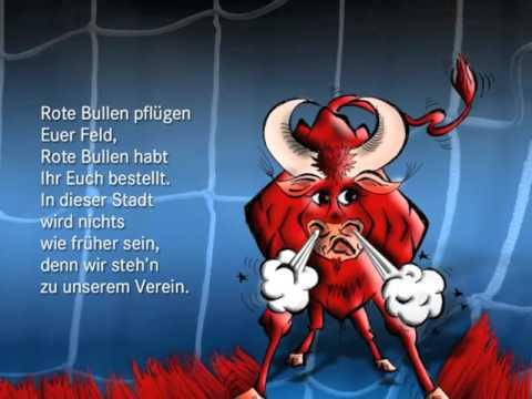 RB Leipzig Hymne mit Bild+Text zum Mitsingen - Demo