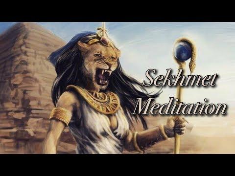 SEKHMET GUIDED MEDITATION | GUIDANCE & HEALING | 🦁⚔️🏜