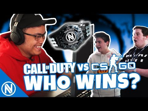 COD vs CSGO FINALE - Battle for the Belt | Team Envy