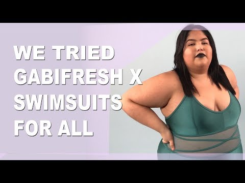 d11c46a487d We tried GabiFresh's 2018 swimwear collab with Swimsuits For All | Revelist
