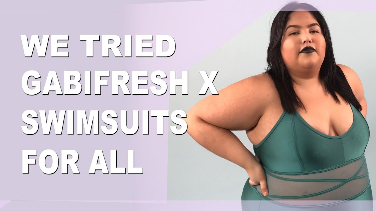 c3a4b6a7032 We Tried GabiFresh X Swimsuits For All - YouTube