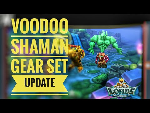 Lords Mobile - Voodoo Shaman Gear Update