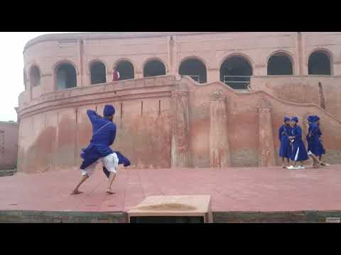 Gatka Sikh Martial Art at Gobindgarh Fort, Amritsar-Punjab