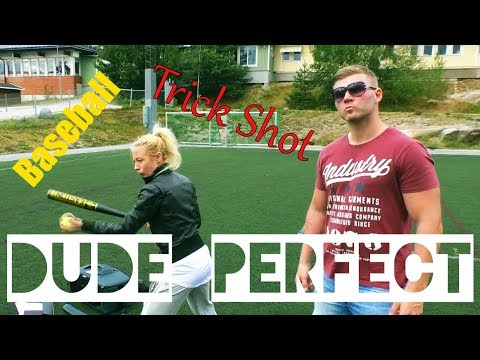 Dude Perfect Baseball Trick Shot Parody