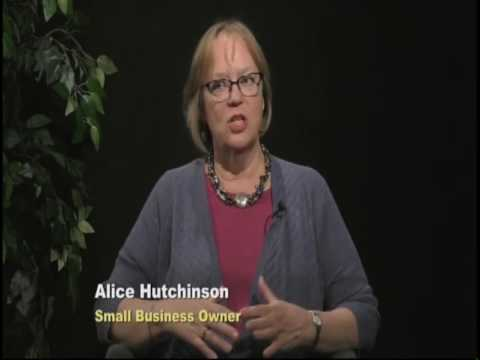 Alice Hutchinson,  Owner of Byrd's Books, Community Forum with Susan Shaner,  7/24/17