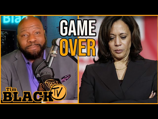 9 Reasons Kamala Harris Dropped Out | Tim Black