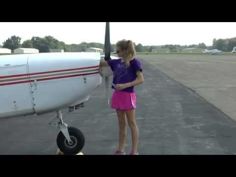 PA 32-301 Flight Lesson for Ellie - PreFlight and Engine Start Procedure