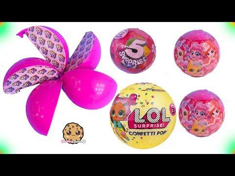 5 Layer Surprise Toys + LOL Confetti POP - Cookie Swirl C Video