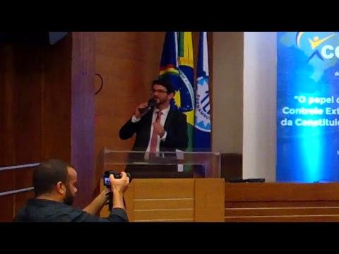 Christian Campinas, Diretor da AudTCE/SP, participa de painel do Conacon 2018