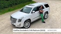 Cadillac Escalade Platinum 2019: Review, Test, Fahrbericht
