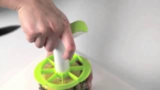 パイナップルスライサー&ウェッジャー(Pineapple Slicer & Wedger)