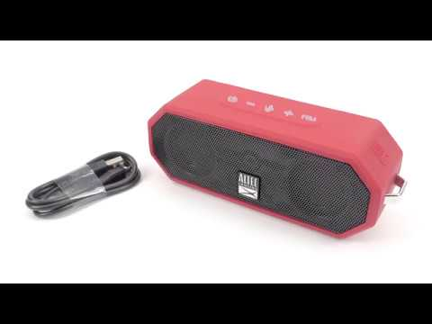 Using the IMW449 Jacket H20 4 Bluetooth Speaker - Part 1 Charging and  Buttons