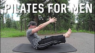 Pilates for Men - Advanced Core Abs Workout - Extreme Abdominal Exercises #pilatesformen