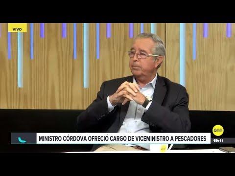 """""""Creo que el ministro de la Producción ya tenía un reemplazo para mí"""", exviceministro Héctor Soldi"""
