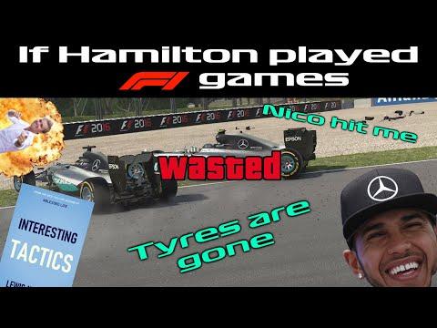 If Hamilton Played F1 Games