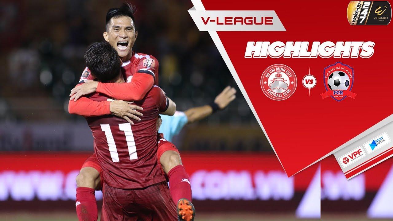 Video: TP Hồ Chí Minh vs Hải Phòng