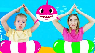 Baby shark song - kids song sing and dance by Dima Family Show