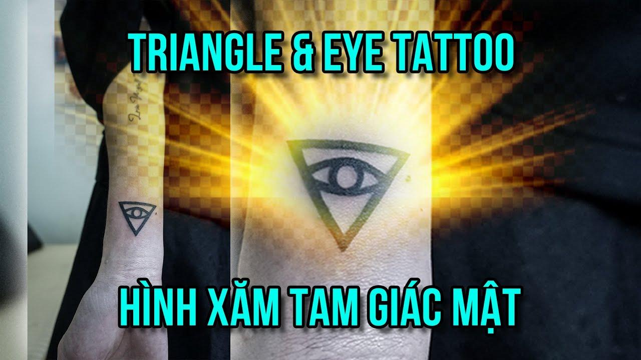 Triangle All Seeing Eye Tattoo – Hình Xăm Mắt Và Tam Giác Đẹp – Ngoc Thong Tattoo   Tóm tắt những tài liệu liên quan đến hình xăm con mắt hoa văn chính xác nhất