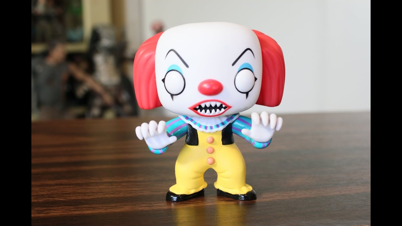 Pennywise Stephen King S It Funko Pop Youtube
