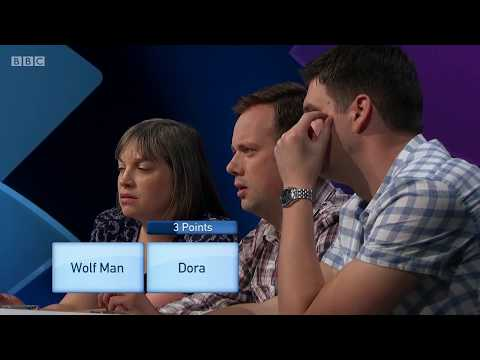 Only Connect, Series 13, Semi-Final 1. Vikings v Belgophiles. Victoria Coren Mitchell. 16 Apr 2018