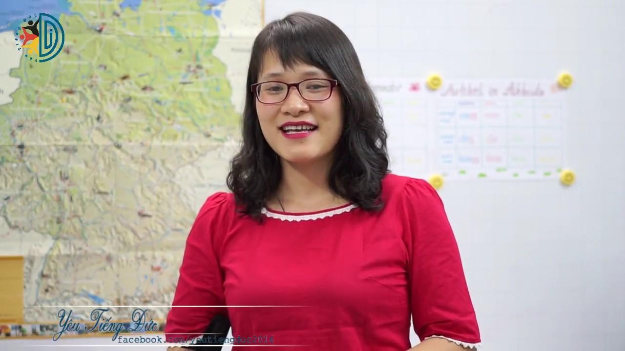 Học tiếng Đức cùng cô Thùy Dương - Bài 10: Phân biệt Nominativ và Akkusativ