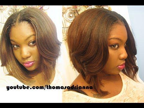 middle part bob cheap hair youtube