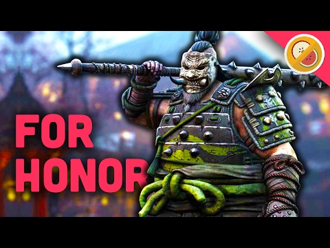 SHUGOKI WILL EAT YOU! - For Honor Gameplay