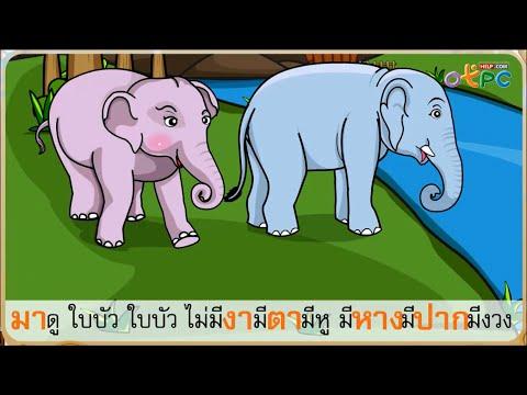 ภาษาไทย ป.1 -  ทบทวนการอ่านแจกลูก การสะกดคำ สระ อา (12)