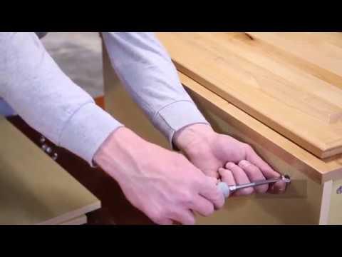 Wall Cabinet Assembly | Knotty Alder Cabinets. KnottyAlderCabinets.com
